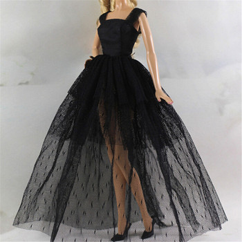Fashion Design Princess Wedding Dress Noble Party Gown For  Doll Outfit Best Gift For Girl' Doll Doll Clothes For nk one set original princess doll dress noble party gown for barbie doll fashion design outfit best gift for girl doll