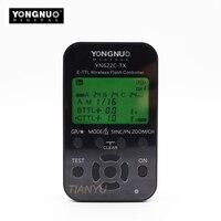 Newest Yongnuo YN 622C TX YN622C TX LCD Wireless E TTL Flash Controller 1 8000s For