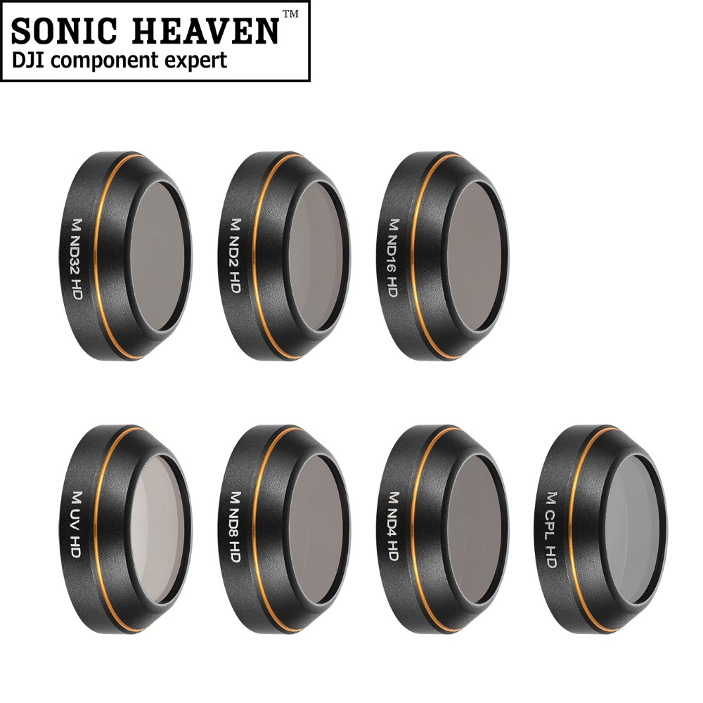 New Lens Filter Protector UV CPL Star Neutral Density ND2 4 8 16 32 Filter Drone