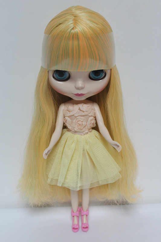 จัดส่งฟรีบิ๊กส่วนลดRBL-85DIYเปลือยตุ๊กตาไบลท์ของขวัญวันเกิดสำหรับสาว4สีตุ๊กตาดวงตาขนาดใหญ่ที่มีผมสวยน่ารักของเล่น
