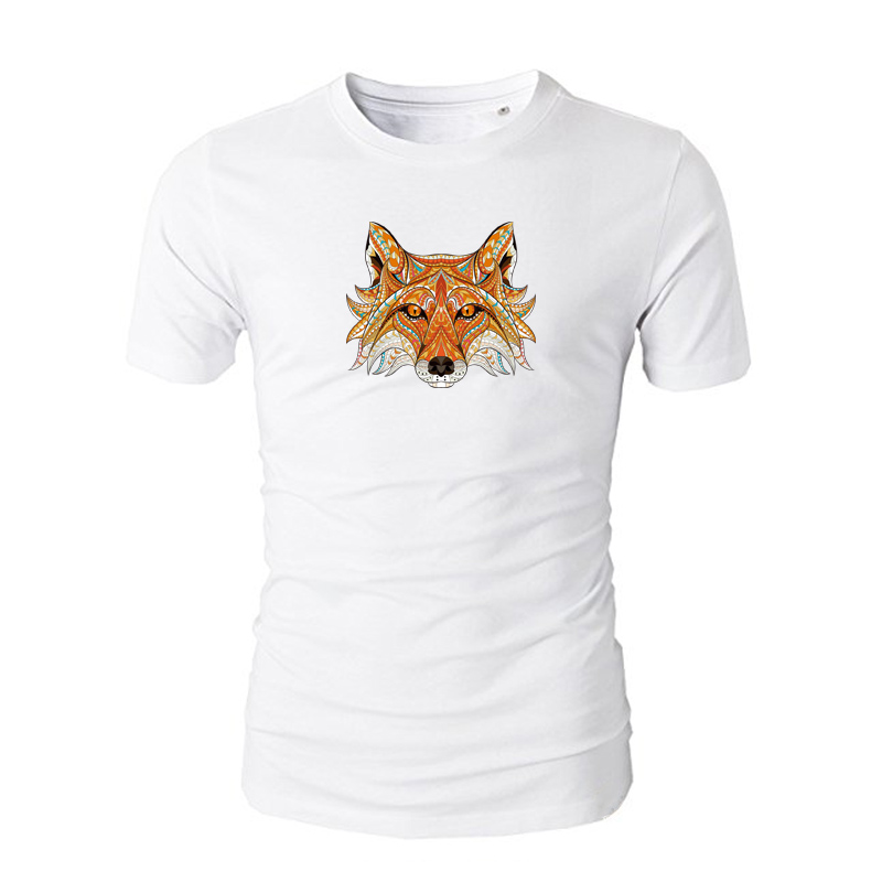 Clothes Applique Fox Pattern Heat Transfer Clothing Deco Diy Accessory Washable New Design Badges Iron On Transfers in Patches from Home Garden