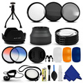 52MM Accessory UV CPL ND & Close up Filter Kit for Nikon D3200 D3100 D5200 D5100