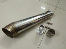 tubo escape moto motorcycle exhaust muffler gp exhaust stainless steel exhaust pipe 150cc performance exhaust