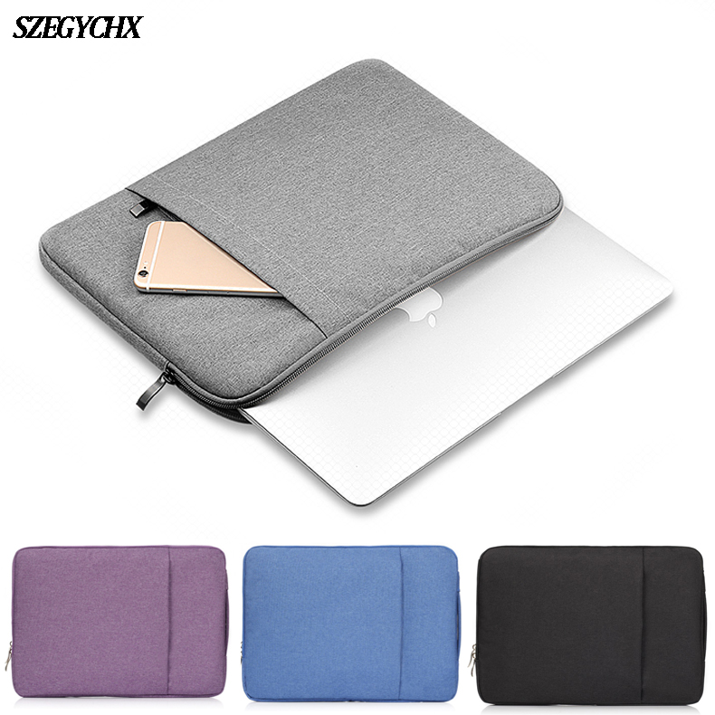 Custodia protettiva per MacBook Air 13 Pro Retina 11 12 13 15 15.4 Custodia per notebook Custodia per MacBook New Air 13 A1932 2018 Borsa