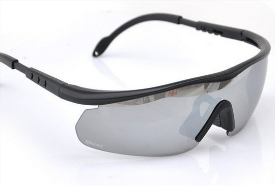13e894efbae Tactical FS C2 UV400 Polycarbonate 4 Lens Protection Goggles Glasses Set