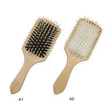 Anti Static Wooden Paddle Comb Scalp Hair Care Brush Massage Spa Antistatic Head Promote Blood Circulation