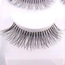 5 Pairs Man-made Sparse Cross Eye Lashes Extension Makeup Long False Eyelashes Chic Design