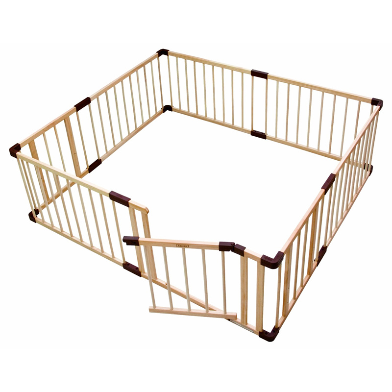 Clôture de jeu pour bébé barrière rampante bébé sécurité enfant en bas âge barre enfants clôture en bois massif clôture de jeu pour enfants multi-spécial en option