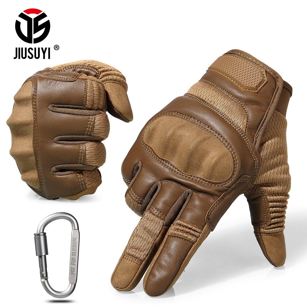 Écran tactile Tactique Dur Knuckle Complet Doigt Gants Airsoft Paintball Militaire Armée Soldat Armure Anti-gants antidérapage homme femme