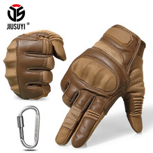 Touch Screen Tactical Hard Knuckle Full Finger Gloves Airsoft Paintball Military Army Soldier Armor Anti-Skid Gloves Men Women(China)