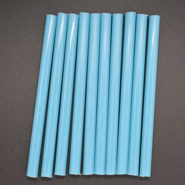 10 Pcs Blue Color 7MM Hot Melt Glue Sticks For Electric Glue...
