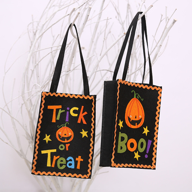 Giveu Pcs Lot New Products Halloween Candy Bag Trick Or Treat Candy Bags Boo Children