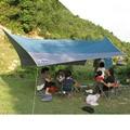 Axeman 450*440cm Outdoor Camping Velarium Canopy Picnic Tent Hoothie Tarp  Camping Tent Mat Waterproof Tent Rain Cover