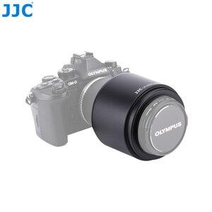 Image 5 - JJC parasol de objetivo 58mm para Olympus M.ZUIKO DIGITAL ED 75 300mm f/4,8 6,7 II lente sustituye a LH 61E