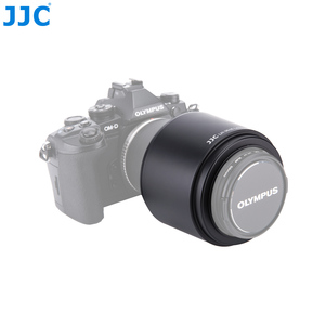Image 5 - JJC pare soleil 58mm pour Olympus M. ZUIKO DIGITAL ED 75 300mm f/4.8 6.7 II objectif remplace LH 61E