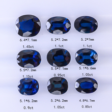 Natural non-optimized Australian large particle vitreous royal blue gemstone diamond ring, custom support, with certificate