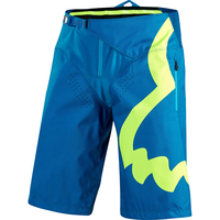 NEW Delicate Fox Motorcycle Racing Moto Blue Shorts MTB DH Downhill Bicycle Mountain Bike Summer Pants