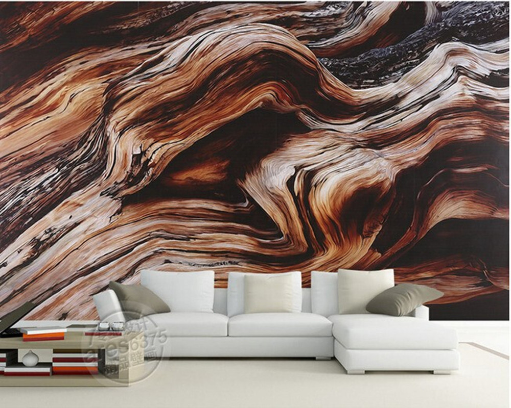 The custom 3D murals,Retro hand-painted luxury solid wood texture ,living room sofa TV wall bedroom wallpaper papel de parede custom papel de parede personality cartoon animals living room sofa tv wall bedroom 3d wall murals wallpaper