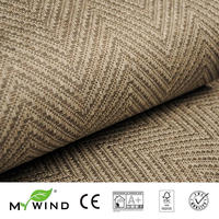 2019 MY WIND Grasscloth Wallpapers Luxury Natural Material Innocuity 3D Paper Weave Design Wallpaper In Roll Decor wandbekleding