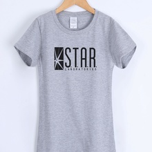 STAR S.T.A.R.labs women's T-shirts 2019 short sleeve summer cotton t sh