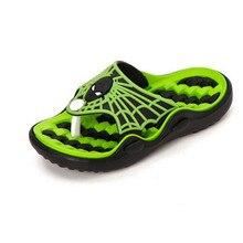 Spiderman Flat Beach Slippers