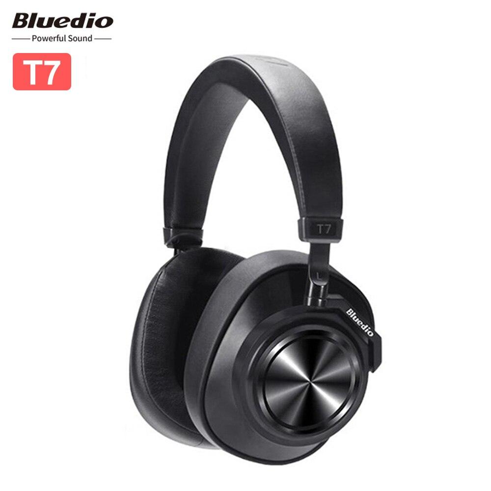 Original Bluedio T7 profond Smart casque sans fil Bluetooth stéréo musique casque avec microphone suppression de bruit