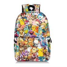 Cartoon Pokemon Super Mario Bros plecak dla nastolatek laptopa Mochilas Feminina Student szkoła plecak kobiet torby podróżne tanie tanio Plecaki Poliester NONE Unisex Miękka zipper 36-55 litr cartoon bag Ił kieszeń Na co dzień Miękki uchwyt Wnętrze slot kieszeń