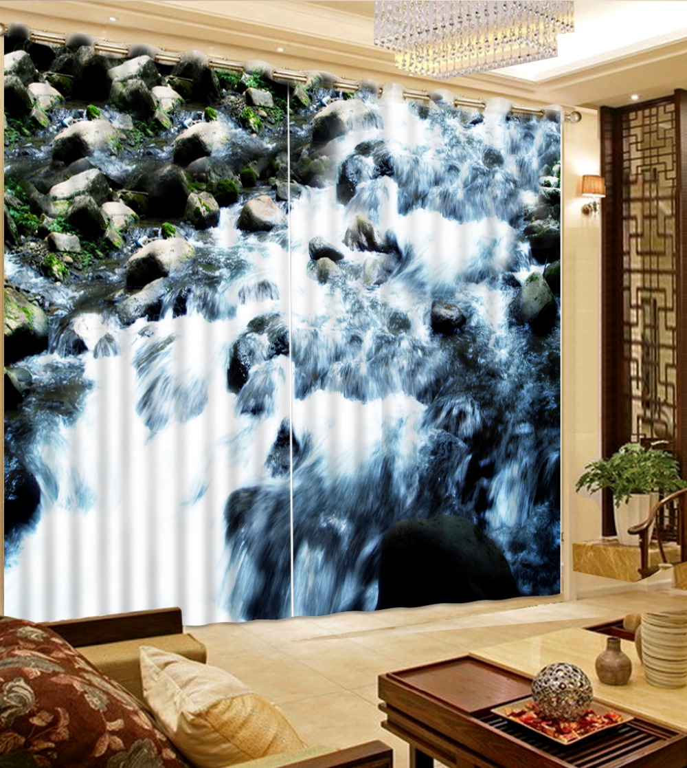 curtains 3d Beautiful Photo Photo Customize size Natural landscape stone water nature window curtains curtains 3d Beautiful Photo Photo Customize size Natural landscape stone water nature window curtains