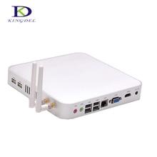 Хит продаж мини-ПК без вентилятора htpc Intel Celeron 1037U Dual Core 1.8 ГГц, 3D компьютерной игры, HDMI WI-FI DHL Бесплатная NC210