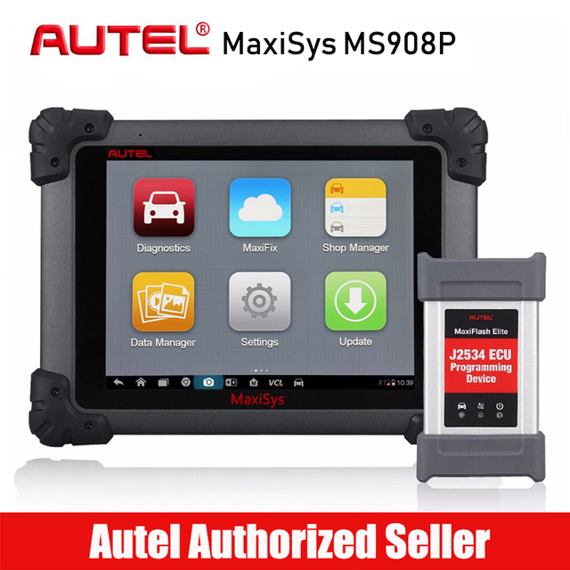 Big Promo Autel MaxiSys Pro MS908P Automotive Diagnostic Tool All System Car Scanner with Advanced ECU Coding Programming with J2534