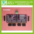 Бесплатная доставка 1 шт. PCA9685 16 Канал 12 бит PWM Servo водитель Интерфейс I2C для Arduino Raspberry Pi DIY Servo Щит модуль