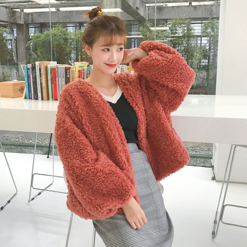 Mazefeng 2017 New Autumn Winter Thick Solid Short Women Cardigans Ladies Casual Keep Warm Coat Women Loose Comfortable Sweater