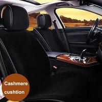 Dewtreetali Single Faux Fur Seat Cover Winter Warm Car Seat Cover Cushion Plush Car Pad Car