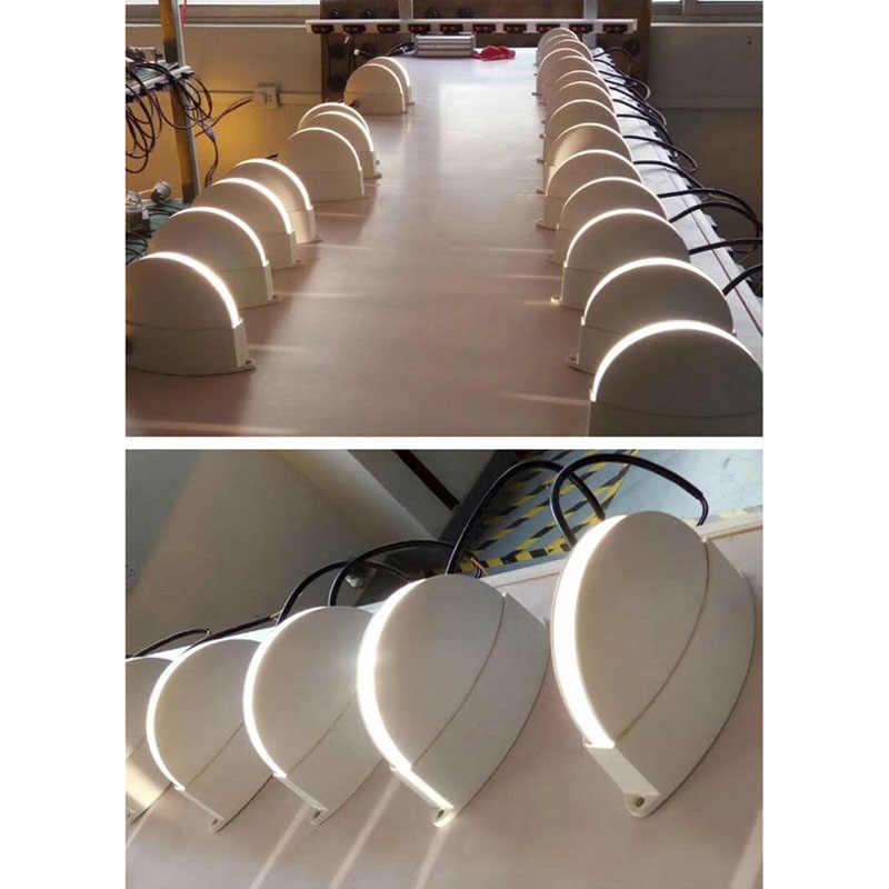 Ip67 à prova dip67 água ao ar livre conduziu a lâmpada de parede, superfície montado conduziu a luz decorativa da parede da janela da iluminação do corredor do forro