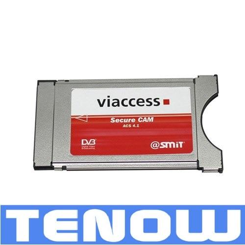 4 Channels SMIT Viaccess Professional CAM CI Module Freeshipping комплект цифрового тв нтв плюс модуль neotion sa cam viaccess ci 1 3