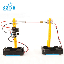 SZ STEAM DIY STEM Toys for Children Physical Scientific Experiment Creativity Learning Educational Toy Infrared alarm de Gift sz steam diy stem toys for children physical scientific experiment creativity learning educational toy diy shooting machine gift