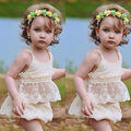 2pcs Toddler Infant Baby Girl Clothes Lace Floral Tops Bottoms Briefs Outfit Set Baby Girls Clothes Set Girls Clothing Set