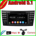 7'' Quad Core Android 5.1 Car DVD for E-Class W211(2002-2008)/CLS W219(04-08)/G-Class w463(2001-2008) for Benz With Stereo Radio