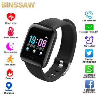 BINSSAW D13 Smart Bracelet Fitness Tracker Heart Rate Blood Pressure Monitor Smart Band IP67 Waterproof Sports For Android IOS xanes a6s
