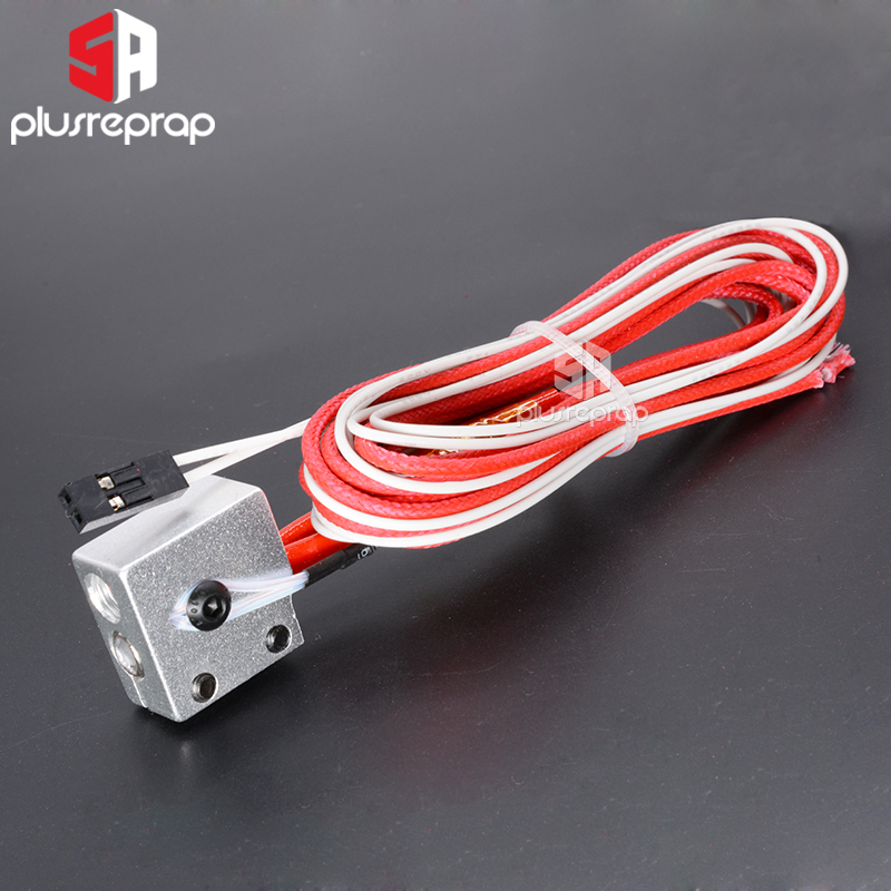 V6 Volcano Hot End Eruption Pack Kit Heater Block With Thermistor And Heater 12V 24V 40W 3D Printer Parts Wholesale