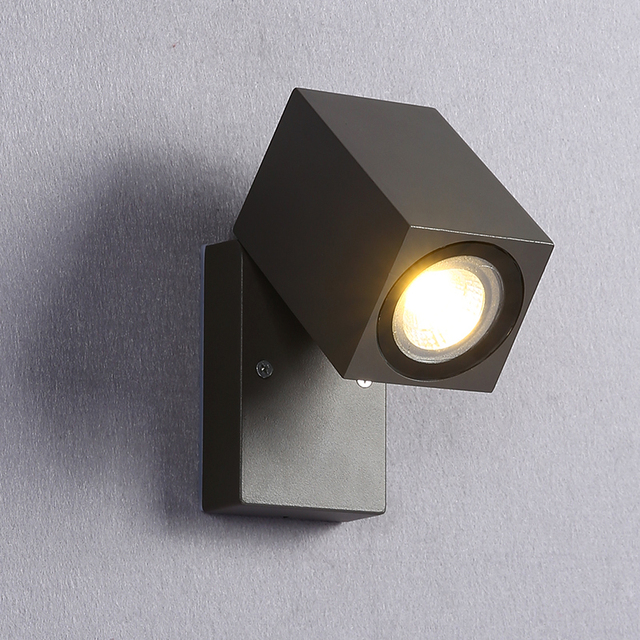 Folding Led Outdoor Lighting Wall Light Lamp Exterior Outside Porch Waterproof Ip65 Garden Sconces Ac85 265v