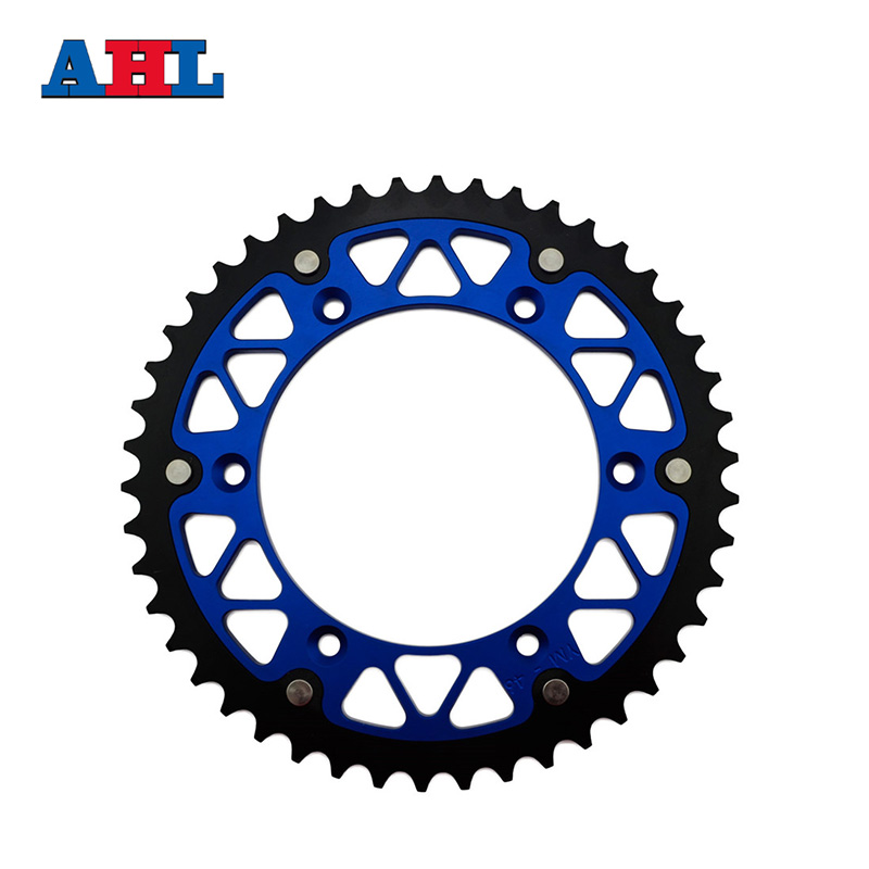 Motorcycle Parts Steel Aluminium Composite 45 ~ 52 T Rear Sprocket For HUSQVARNA TE300 TC250 FC350 FE350 2014 Fit 520 Chain jt sprockets jtr503 45 45t steel rear sprocket