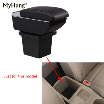 Armrest box For Hyundai I30 2008-2013 Central Console Arm Store content box cup holder ashtray With Rise and Down Function Part
