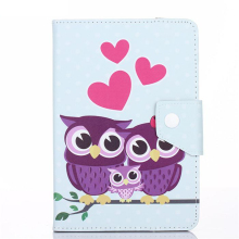 Print Universal 7 inch Tablet case 7.0 Cartoon PU Leather cover For Acer Iconia Tab A100/A101/A110