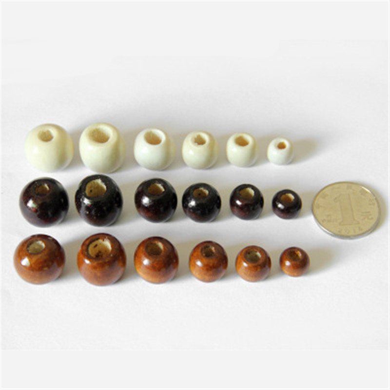 Phenovo 100 Pieces Mixed Printed Wood Beads Large Hole Bead Diy Jewelry Accessories Make Necklace Bracelet Macrame Craft Project Beads Back To Search Resultsjewelry & Accessories