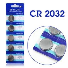 5 Pcs Botão bateria 3 V De Lítio Coin Botão Bateria de Células CR2032 DL2032 ECR2032 5004LC KCR2032 EE6227(China (Mainland))