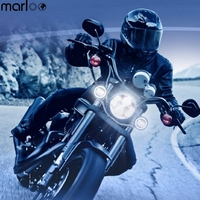 Marloo 7 Led Series Motorcycle 7 Inch Round Led Headlights 23 Kinds Of 7 Daymaker Harley