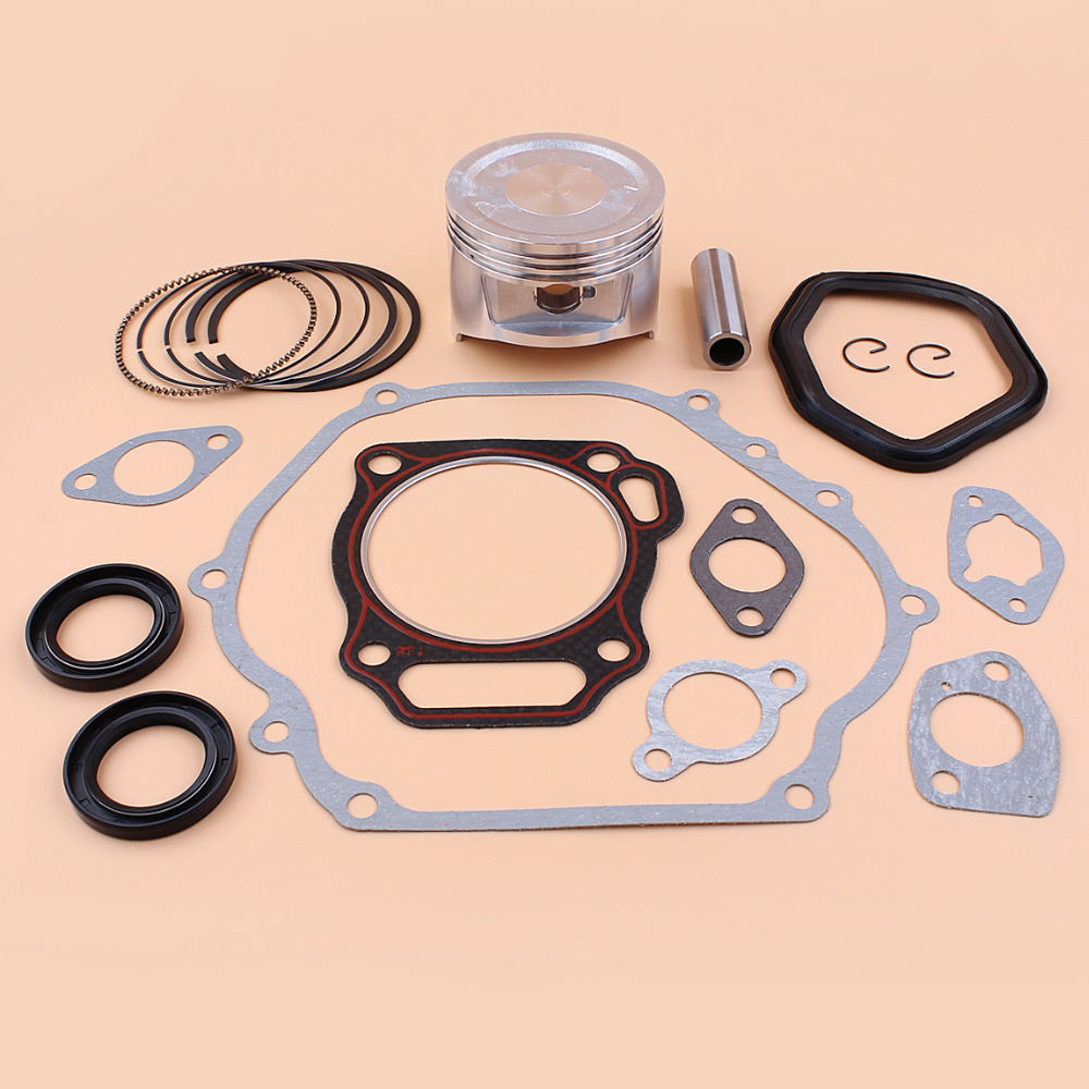 88mm Piston Rings Crankshaft Oil Seal Gasket Rebuild Kit For HONDA GX390 188F E6500 5/6.5kw Gasoline Engine Generator Water Pump88mm Piston Rings Crankshaft Oil Seal Gasket Rebuild Kit For HONDA GX390 188F E6500 5/6.5kw Gasoline Engine Generator Water Pump