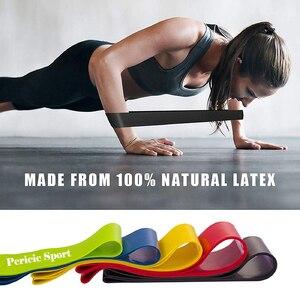 Резинки для фитнеса, эластичная лента, натуральный латекс, мини спорт, тренажерный зал, экспандер для тренировок, Йога, Пилатес, упражнения + бесплатная сумка