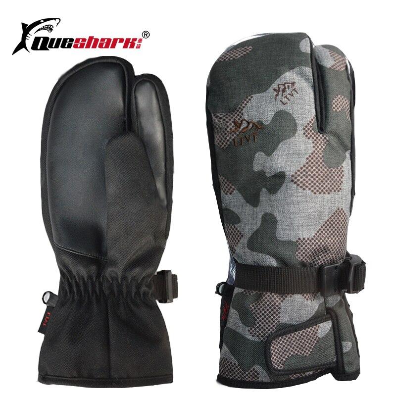 3 doigts écran tactile professionnel Snowboard Ski gants imperméable-30 hiver thermique mitaines cyclisme Ski motoneige gants